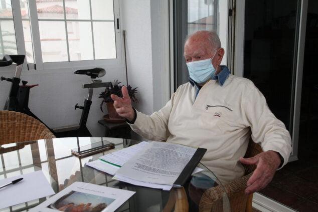 Imagen: Jorge Miquel nos recibe en la terraza de su casa