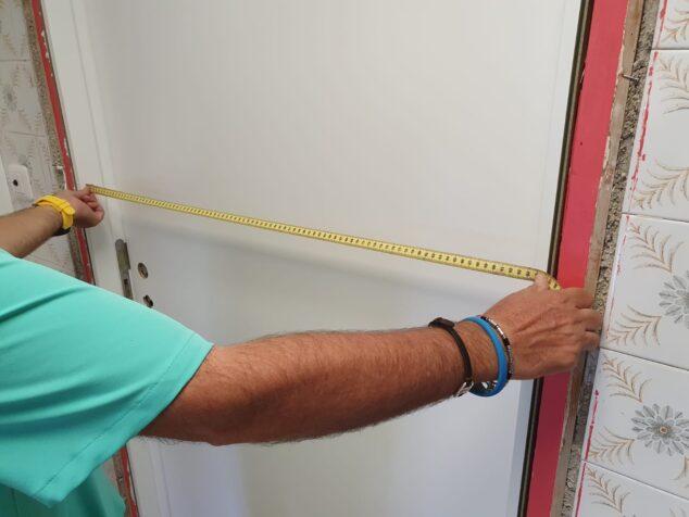 Imagen: Las nuevas puertas de la residencia Santa Llúcia
