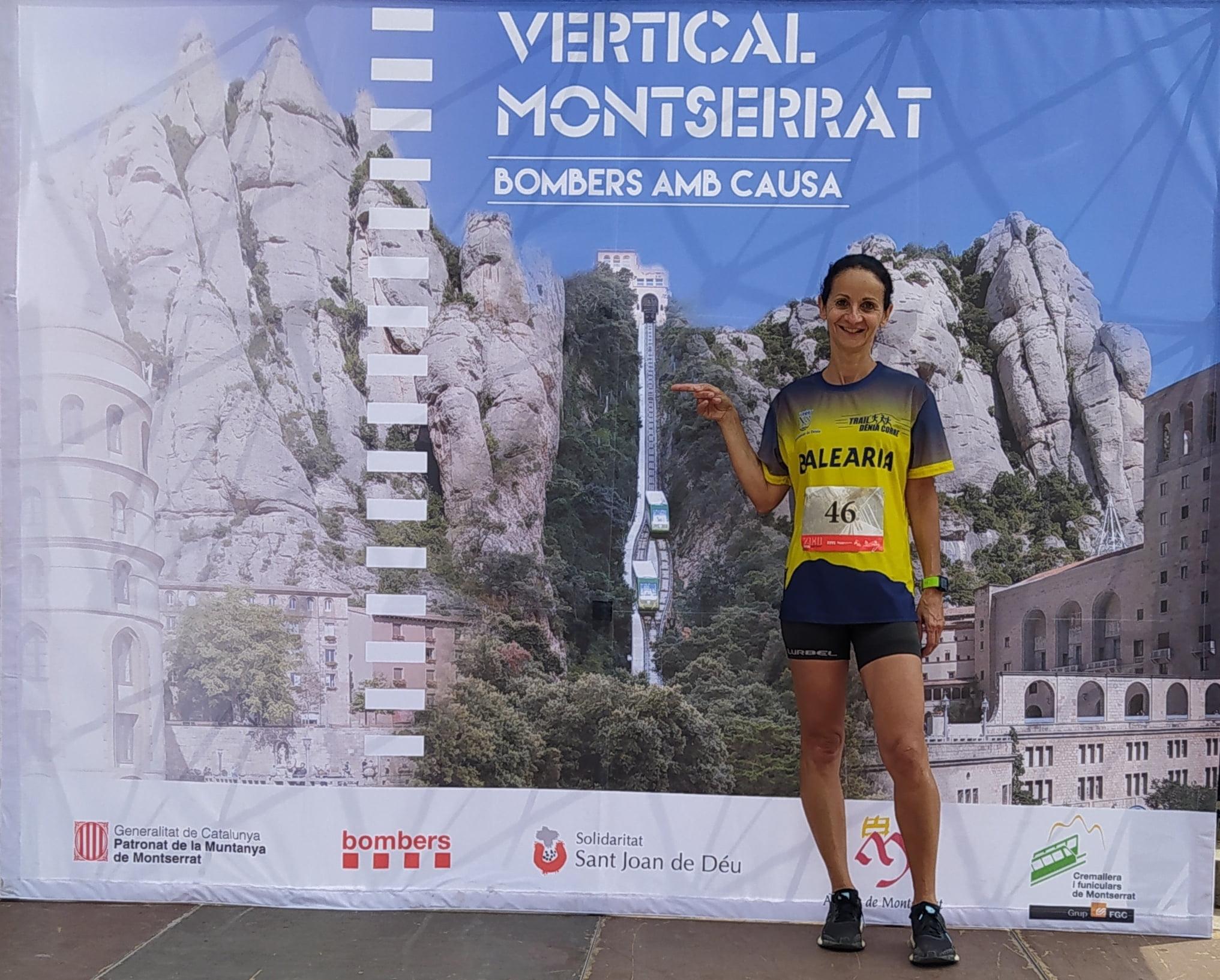 Participación en la Vertical de Montserrat