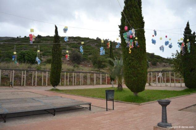 Imagen: Patio del Centro Ocupacional de La Xara