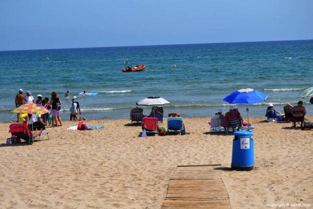Imagen: Playa de les Deveses Dénia