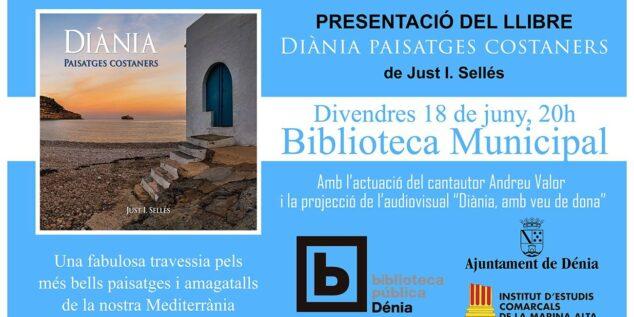 Imagen: Presentación del libro «Diània, paisatges costaners»