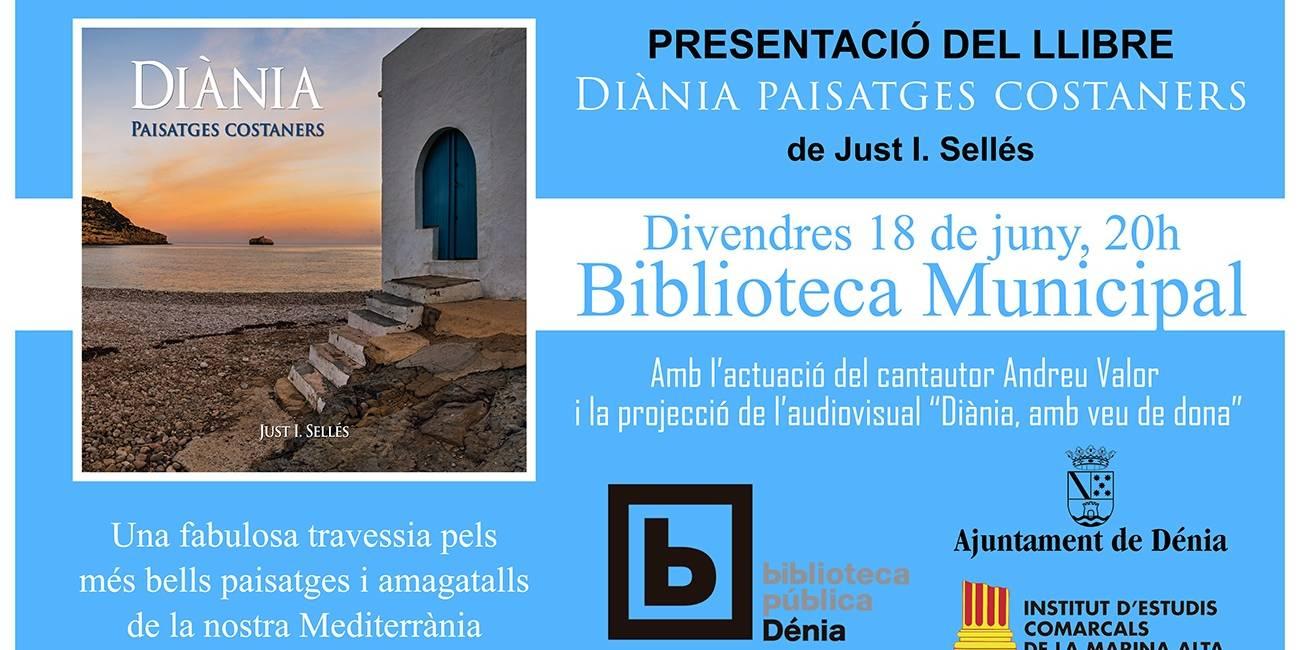 Presentación del libro «Diània, paisatges costaners»