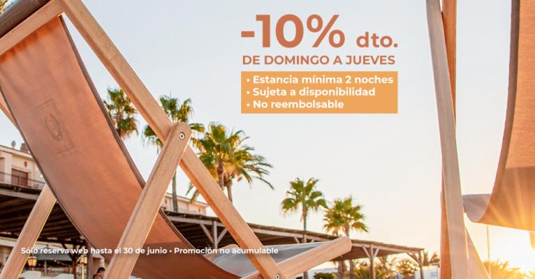 Descuento del 10% en web - Hotel Los Ángeles