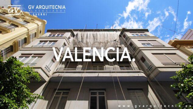 Imagen: Rehabilitación de una fachada en la calle Adressadors de Valencia - GV Arquitecnia
