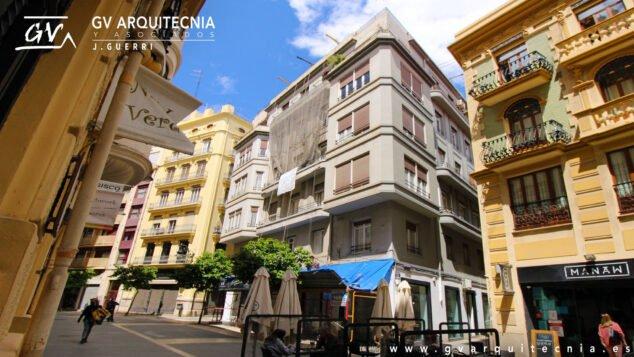 Imagen: Rehabilitación de una fachada en Valencia - GV Arquitecnia