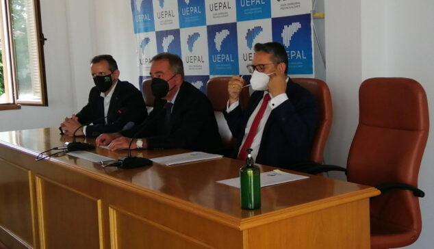 Imagen: Reunión de UEPAL en el Vivero de Empresas de Dénia