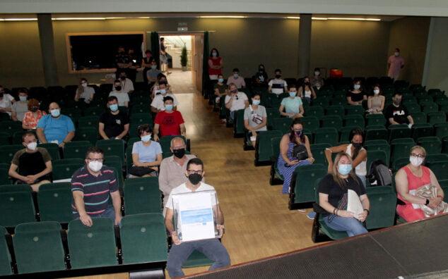 Imagen: Reunión del Ayuntamiento con los informadores de este año