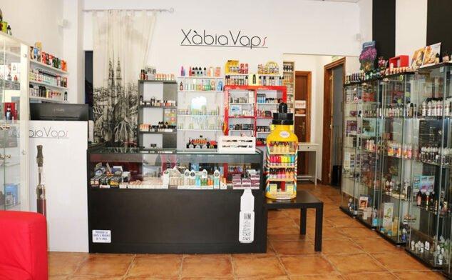 Imagen: Tienda de vapeo y shishas - Xàbia Vaps