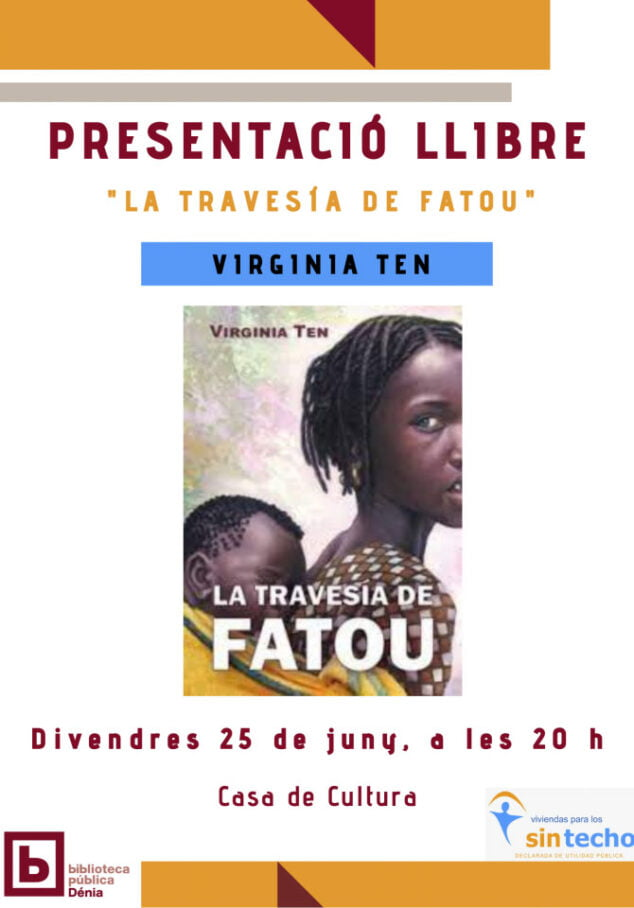 Imagen: Virgina Ten presenta su libro «La travesía de Fatou»
