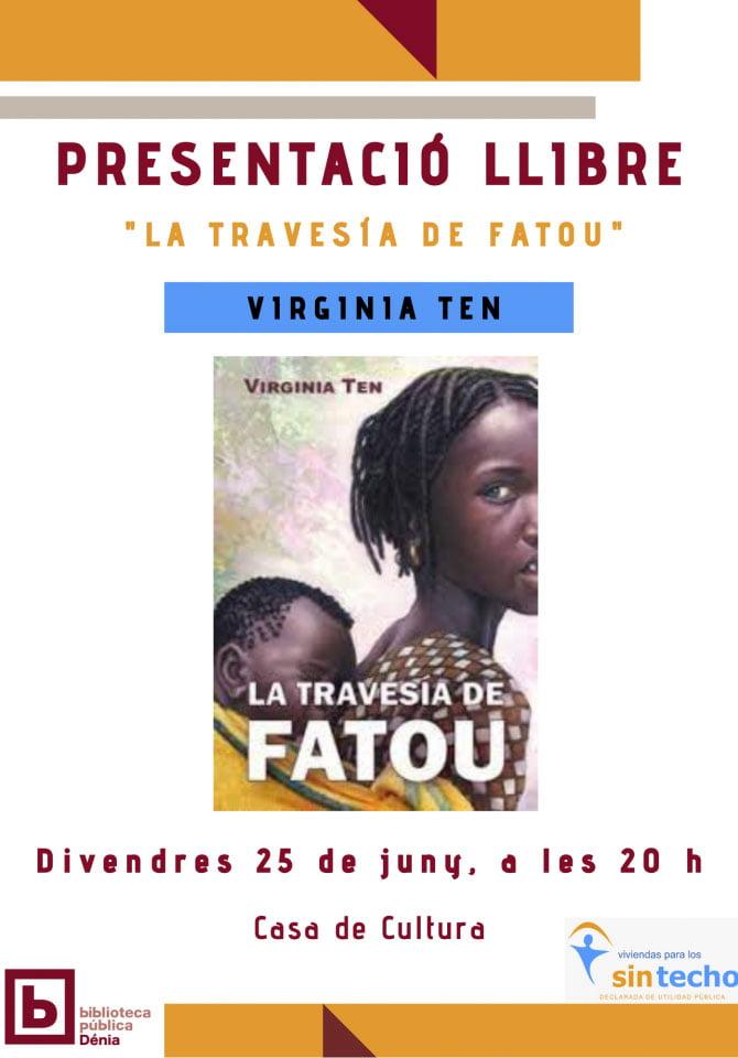 Virgina Ten presenta su libro «La travesía de Fatou»