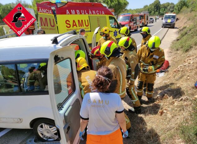 Imagen: Accidente a la altura del hotel Marriot