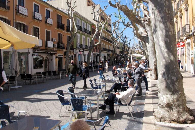 Calle Marqués de Campo de Dénia