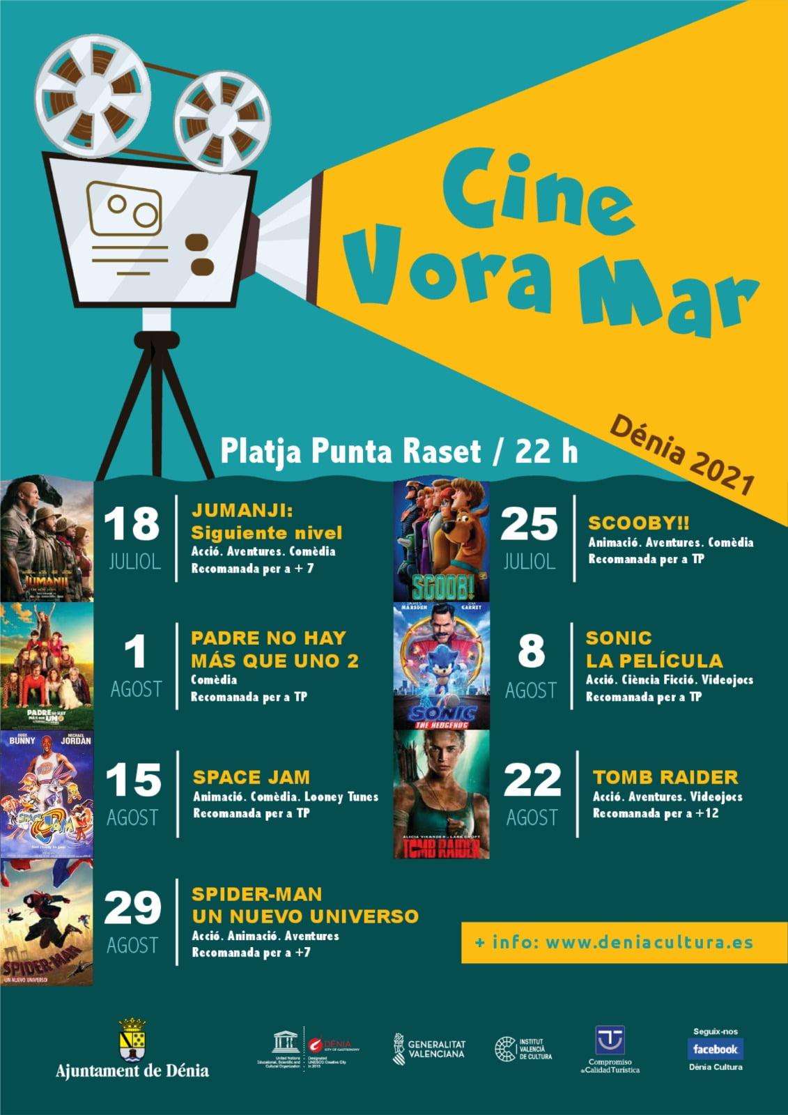 Cartel del Cine Vora Mar 2021