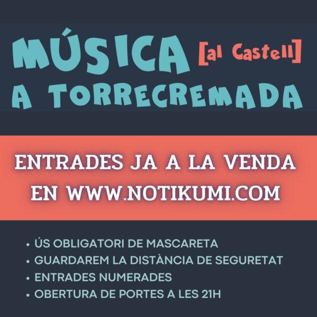 Imagen: Cartel del Música al Castell 2021