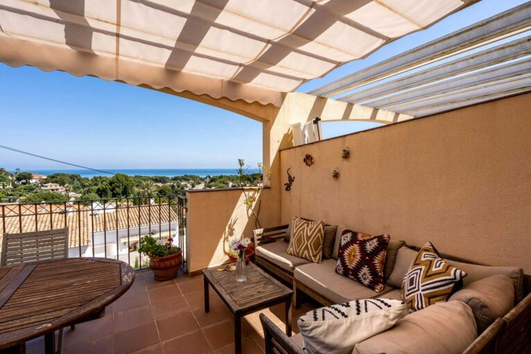 Casa con vistas al mar Denia - Quality Rent a Villa