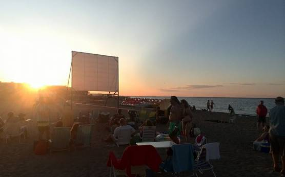 Imagen: Cine Vora Mar en Punta del Raset