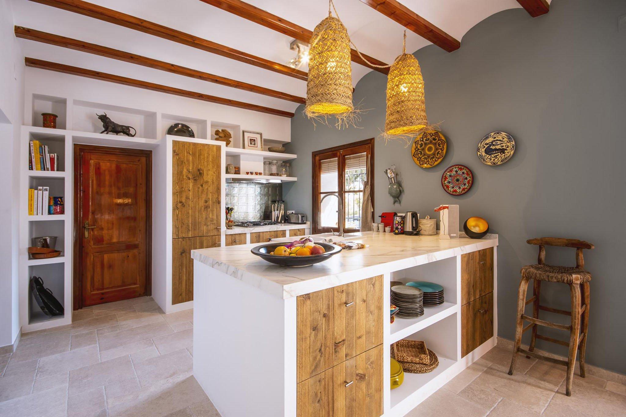 Cocina de Villa Xarabella