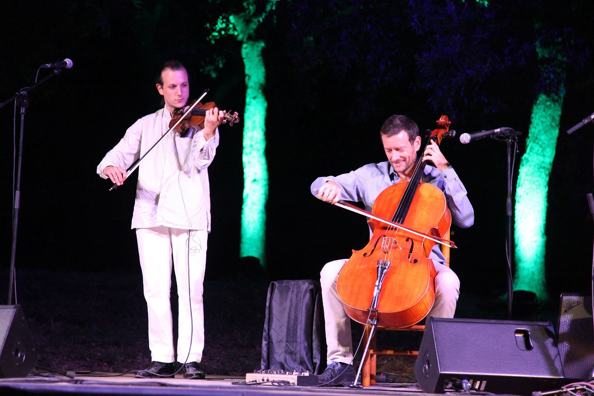Concierto de Matthieu Saglio en Dénia 06