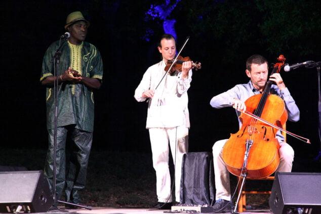 Imagen: Concierto de Matthieu Saglio en Dénia