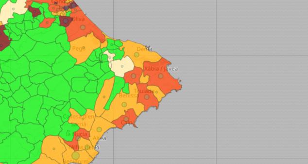Imagen: Datos de coronavirus del 6 de julio 2021