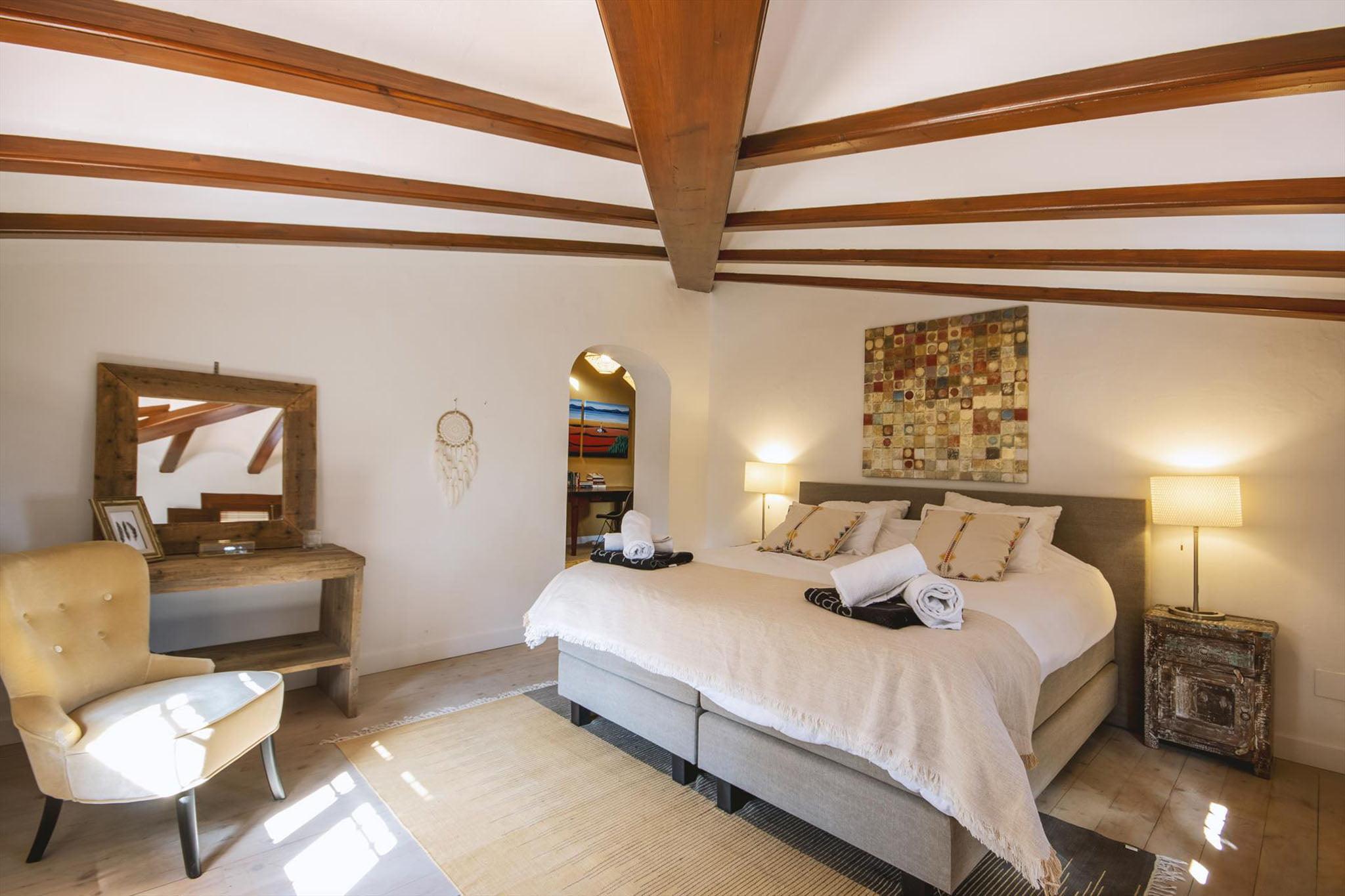Dormitorio de la villa