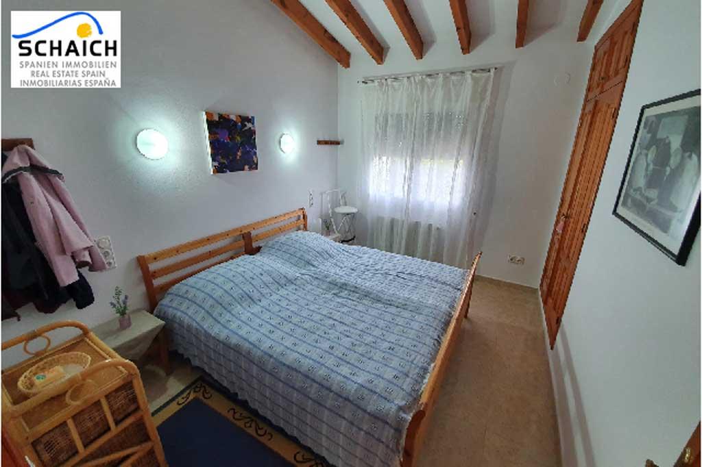 Dormitorio doble en villa en Monte Pego