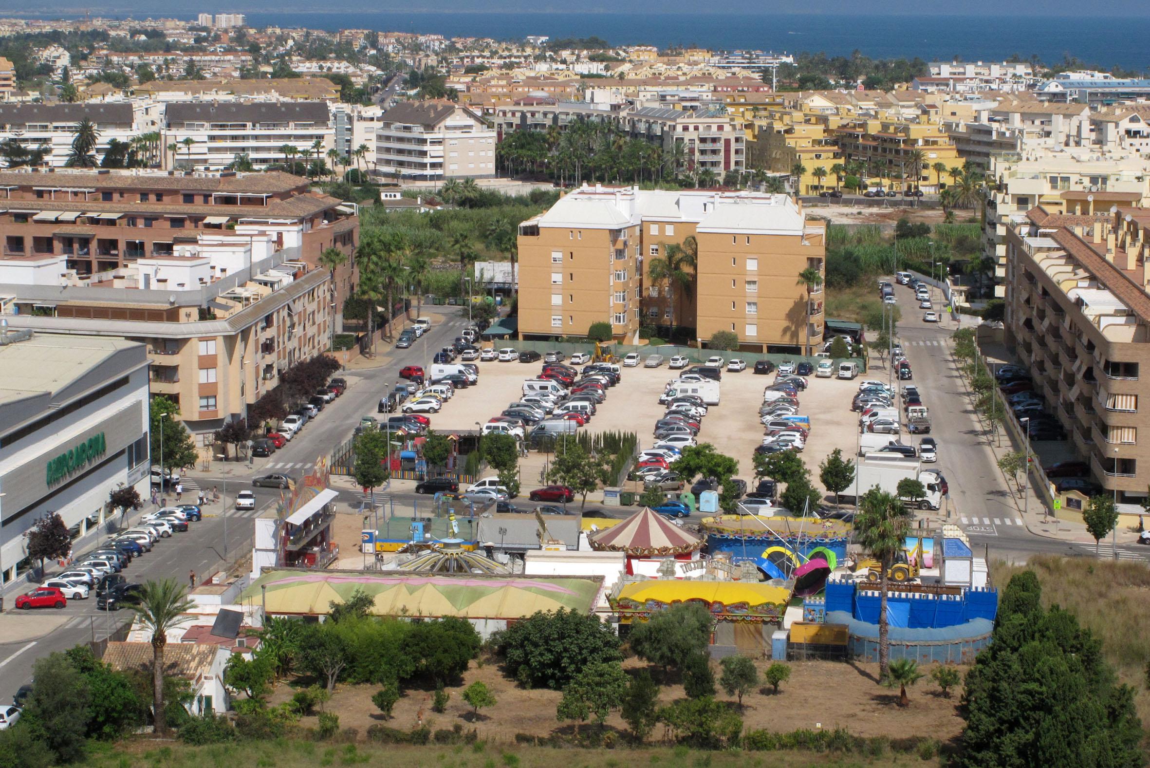 Feria de verano de Dénia en la nueva ubicación