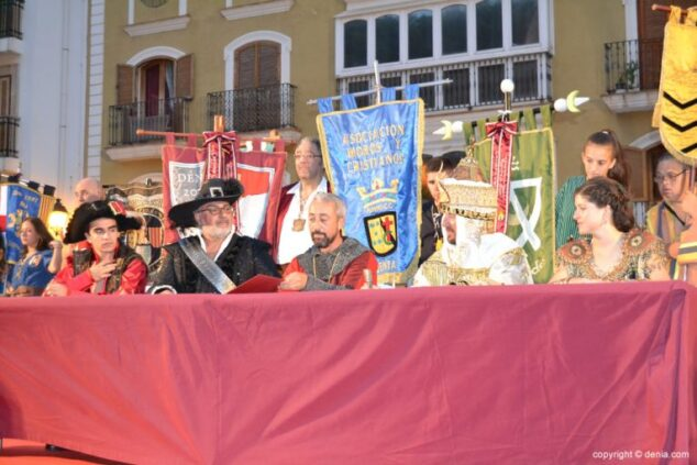 Imagen: Fiestas de Moros y Cristianos en Dénia