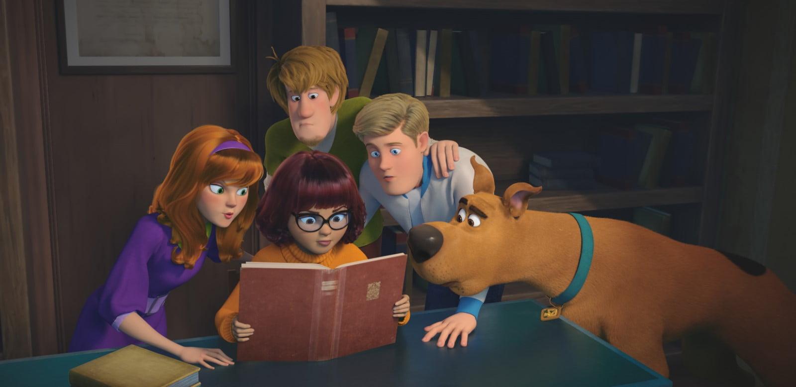 Fotograma de la película ¡Scooby!