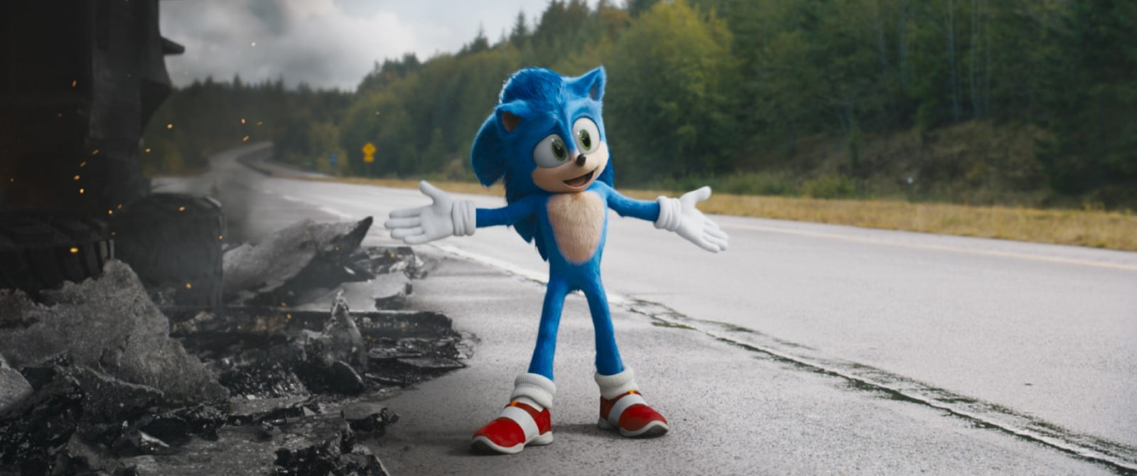 Fotograma de Sonic, la película