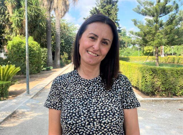 Imagen: María José García, candidata a secretaria comarcal de MÉS-Compromís