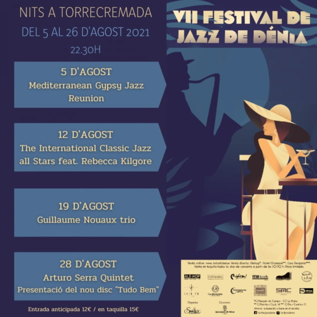 Imagen: Nits a Torrecremada VII Festival de Jazz