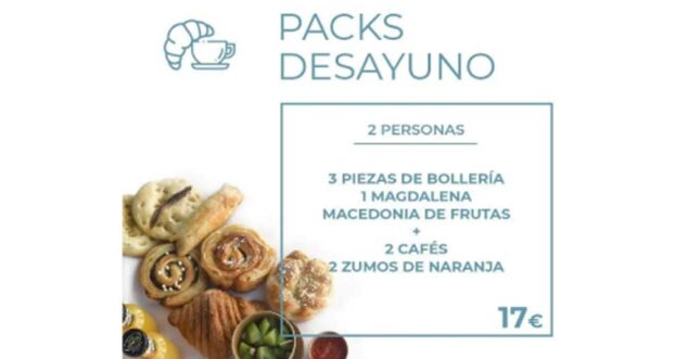 Imagen: Packs de desayuno para dos Beekery