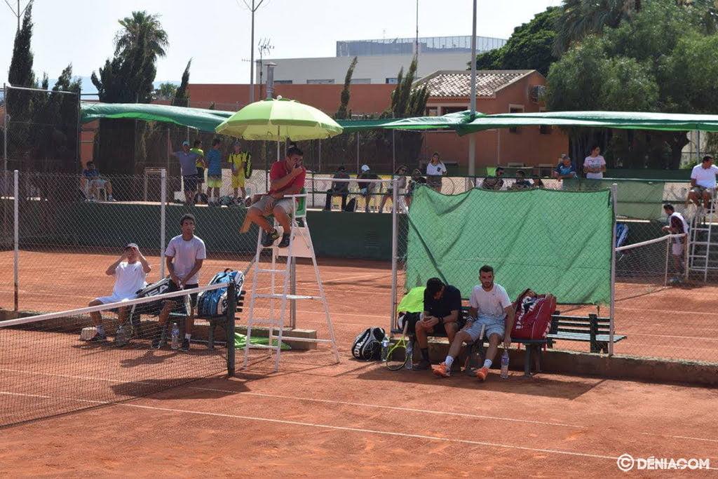 Pistas del Club Tenis Dénia
