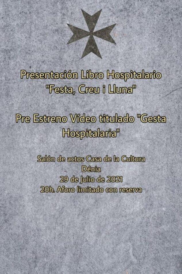 Imagen: Presentación del libro 'Festa, Creu i Lluna' y del vídeo 'Gesta Hospitalaria'