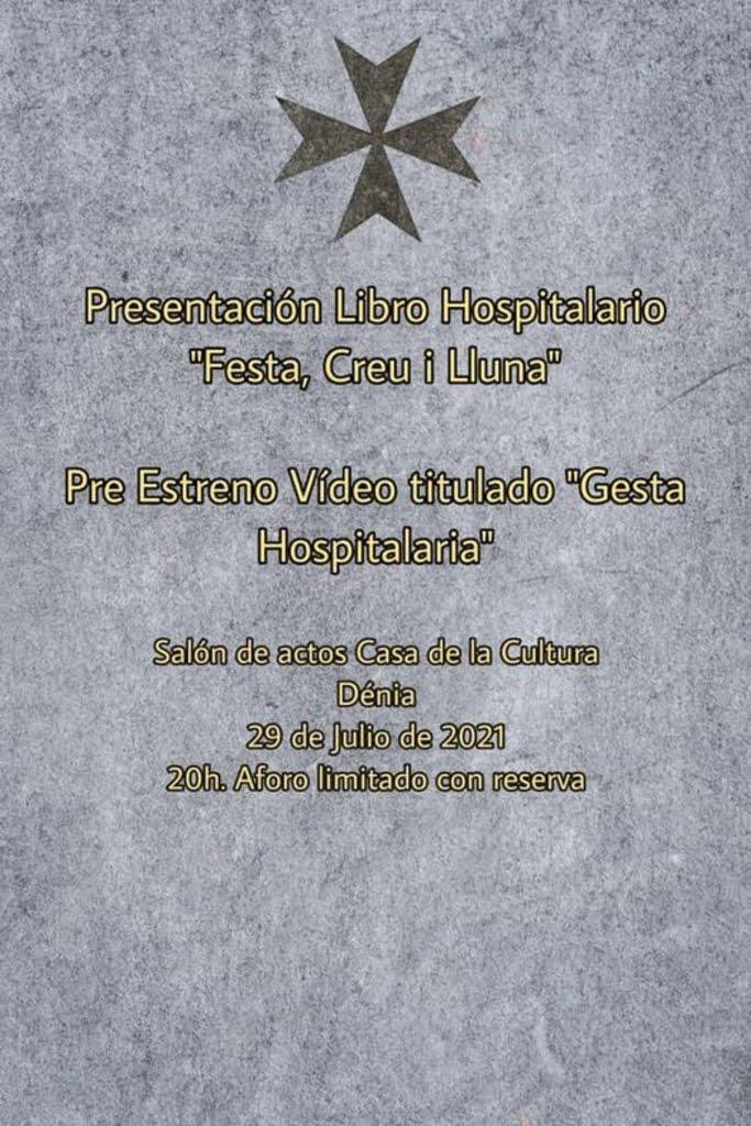 Presentación del libro 'Festa, Creu i Lluna' y del vídeo 'Gesta Hospitalaria'