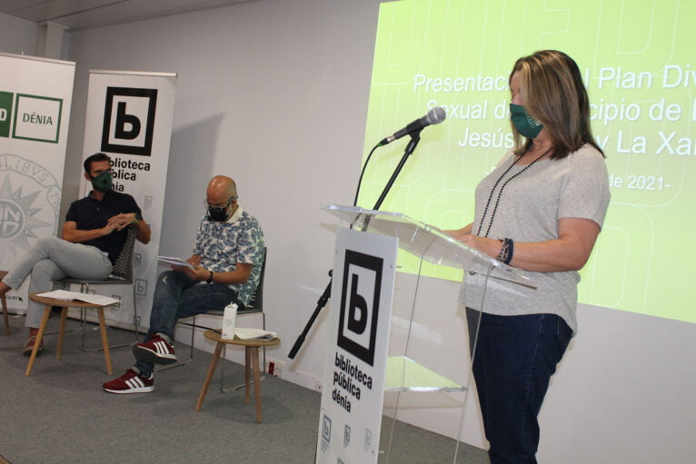 Presentación del Plan de la diversidad sexual en Dénia