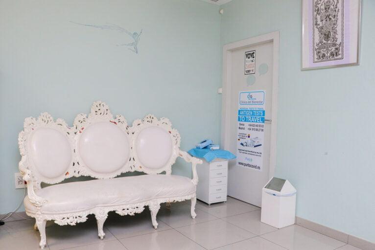 Sala de espera - Clínica Fevan