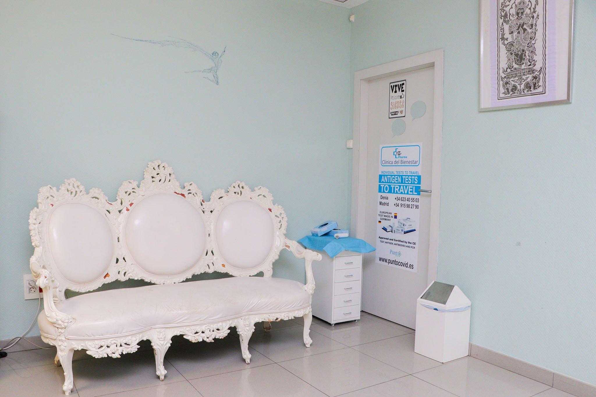 Sala de espera – Clínica Fevan