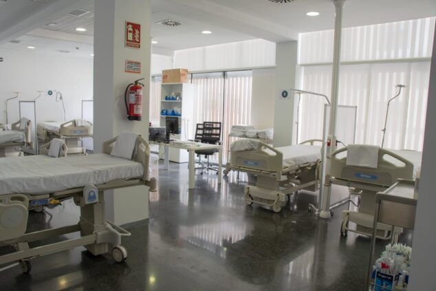 Imagen: Imagen archivo. Sala urgencias Hospital de Dénia