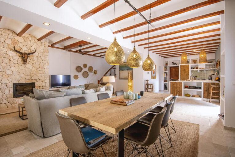 Salón amplio - Villa Xarabella