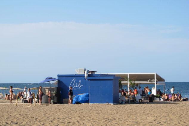 Imagen: Chiringuito del centro de la playa