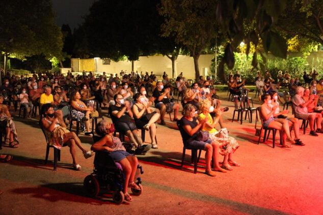 Imagen: El público despide el Festival Música al Castell