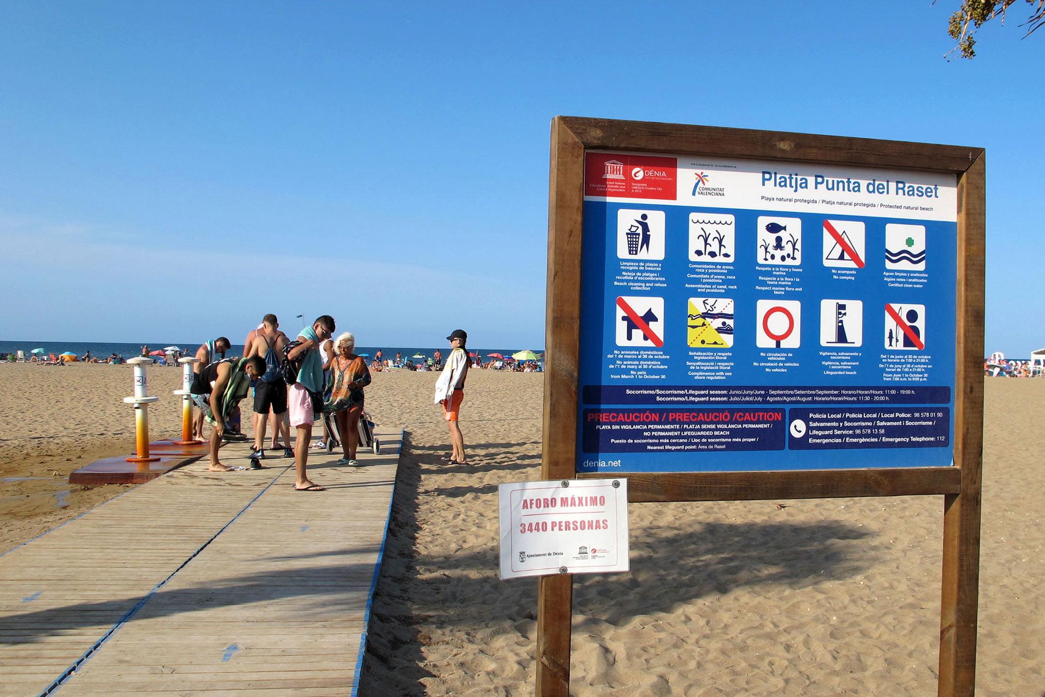 Playa Punta del Raset de Dénia 92