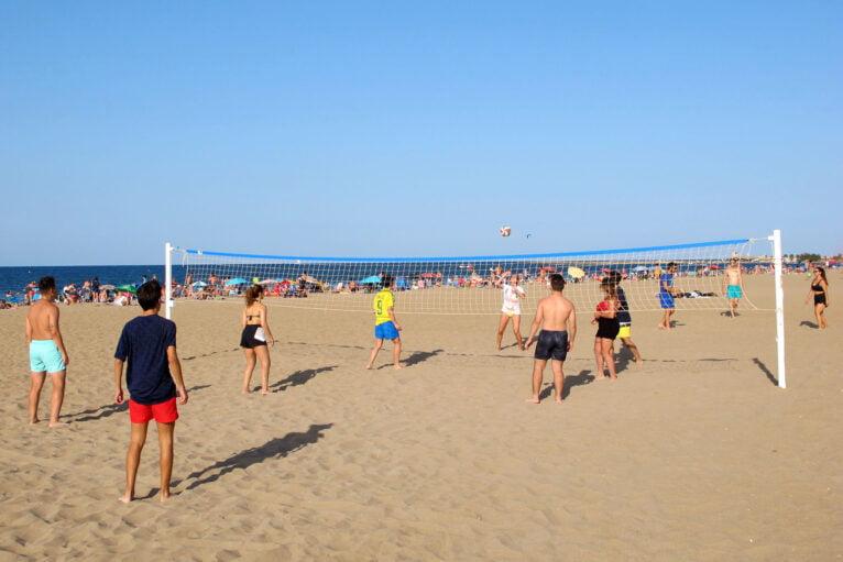Red de volley playa en Punta del Raset