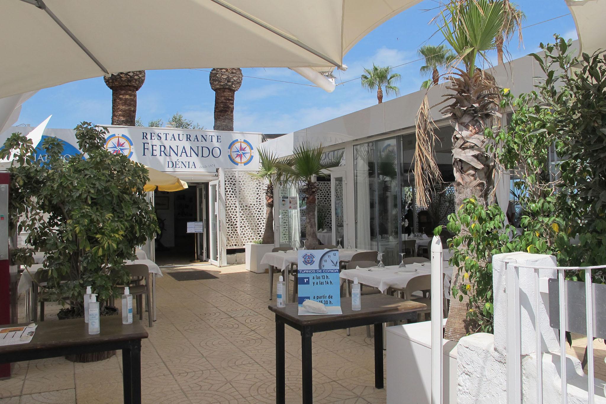 Restaurante situado junto a Punta del Raset