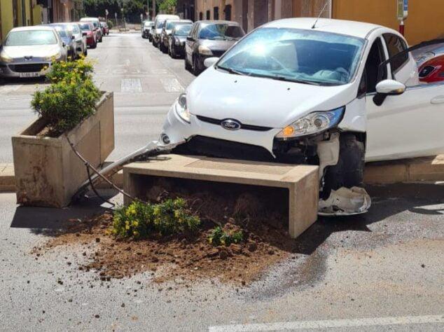 Imagen: Accidente vehículo Dénia