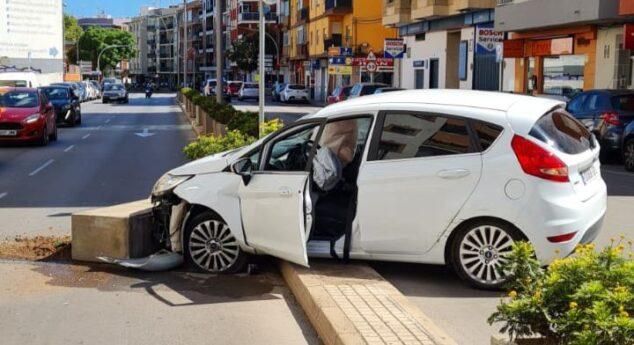 Imagen: Aparatoso accidente Dénia