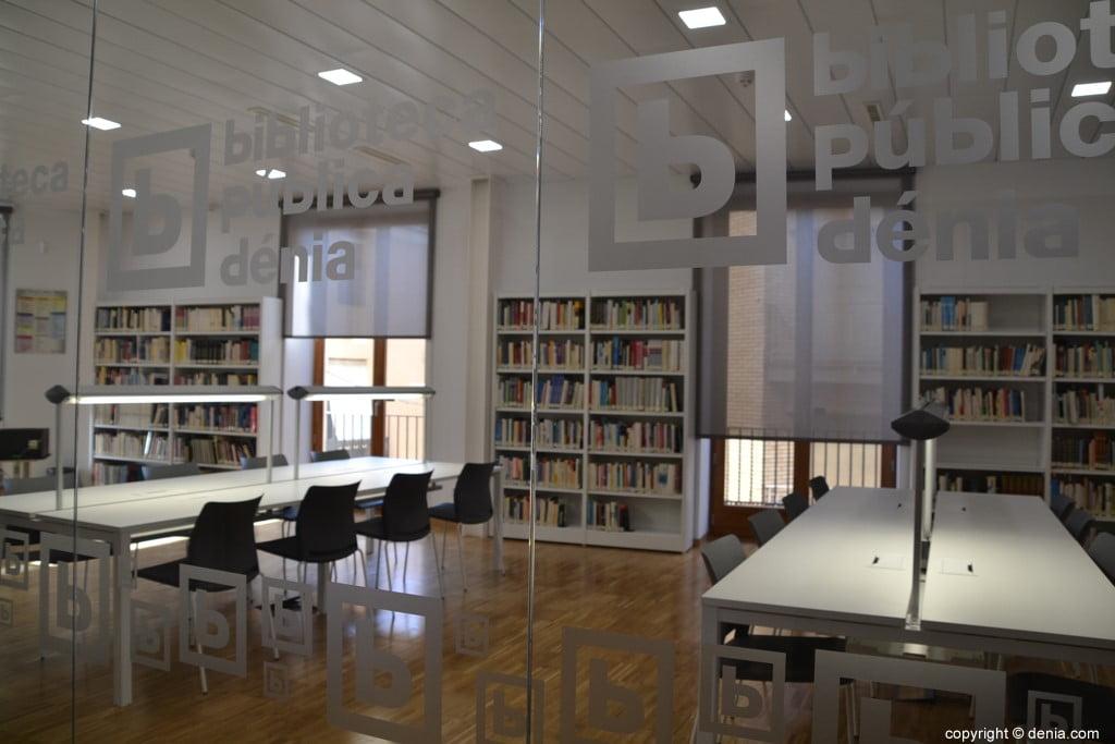 Bibliotecas en Dénia
